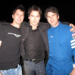 With Ian Somerhalder and John Gilbert, Wrap on season1 THE VAMPIRE DIARIES