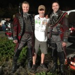 With the 2 Headless Horseman- Craig Branham and Richard Cetrone.