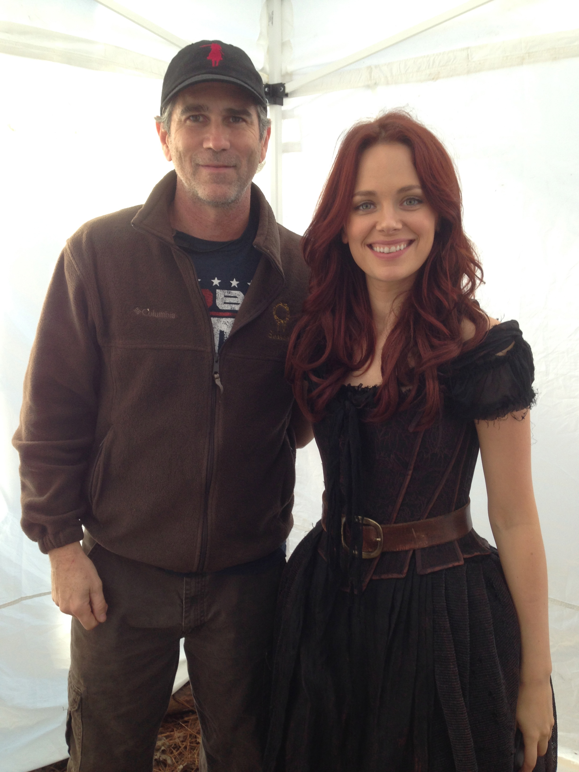With Katia Winter, SLEEPY HOLLOW